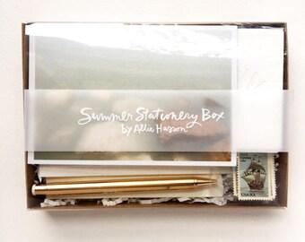 Summer Stationery Box