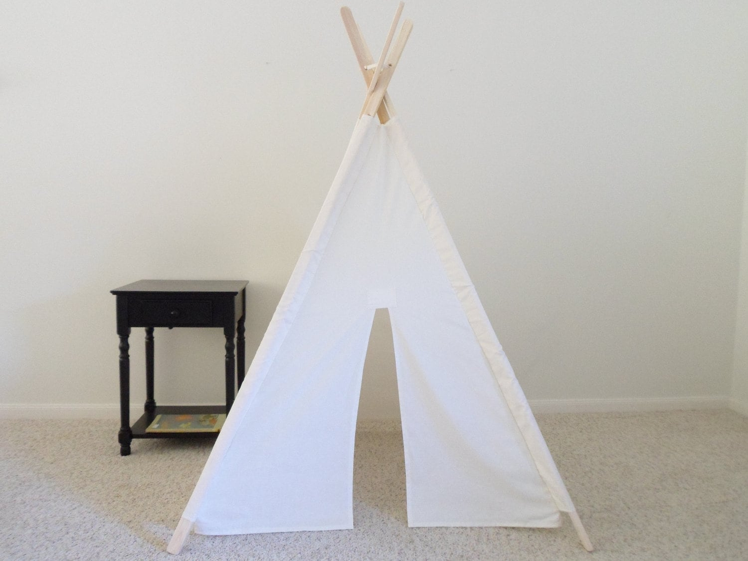 ?zoom & Kids Teepee with poles Play Tent fort Wigwam Made to Order
