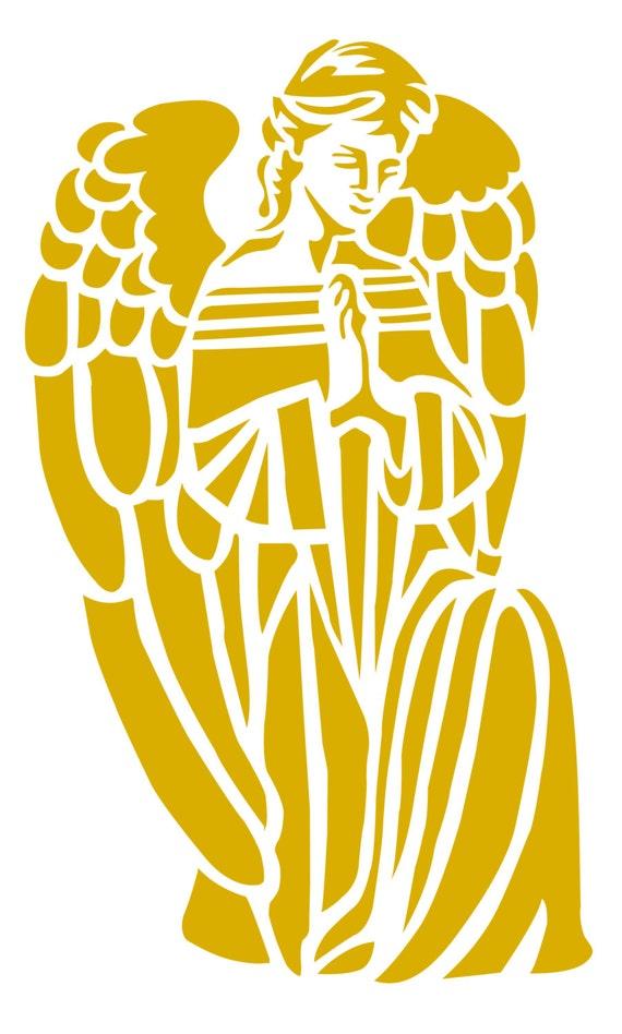 Kontur-Engel Religion сhristianity Druck Engel Svg Engel