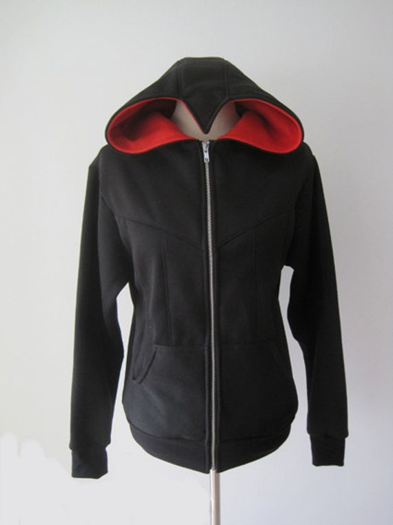 Assassin Beaked Hoodie Cosplay Costume Jacket LCz6f
