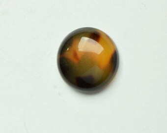Tortoise  round disc , sold package of 3,  7616