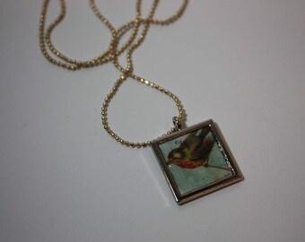 Song bird pendant