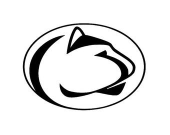 penn state vinyl etsy rh etsy com penn state logo pumpkin stencil