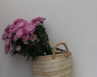 Storage Basket // Jute Storage Basket // Rustic Storage Basket // Home Storage Basket // Picnic Basket // African Basket //