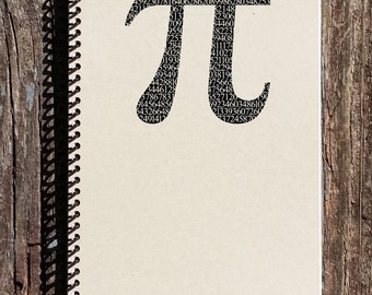 Pi Journal - Pi Notebook - Math Notebook