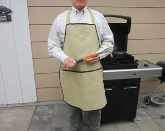 Apron - Men's Full  grilling apron