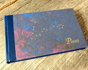 Pisces Notebook - handbound journal