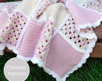 Crochet Pattern - Sweet Dreams Baby Blanket