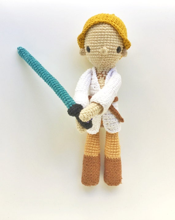 Oh Luuuuke, I have your Crocheted Plushie!