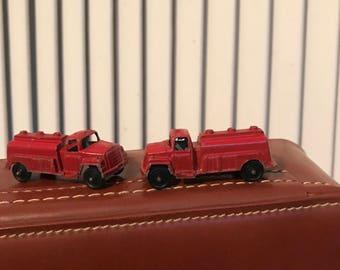 Vintage Tootsie Toy, Red Tanker Truck, Marked Tootsie Toy, Chicago, USA