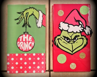 The Grinch Goody Bags