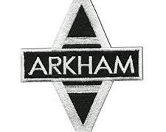 Batman Arkham Asylum jacket Patch iron on sew on Embroidery badge / patch