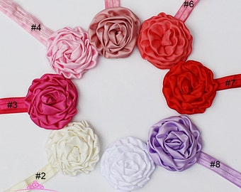 Flower Headband Baby - Flower Head Band - Baby Girl Headbands - Newborn Headbands - Baby Headbands - Infant Headbands