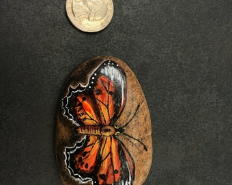 Monarch Butterfly (white tip wings)
