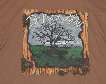XL * vtg 90s 1997 Days Of The New t shirt * post grunge alternative tour * 91.51