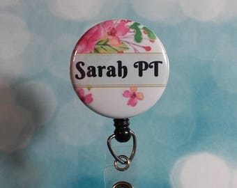 Id Badge Reel Personalized Badge Reel Retractable Badge Reel ID Holder Name Badge Holder