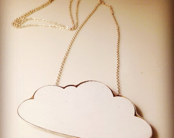 Every cloud has a silver lining pendant