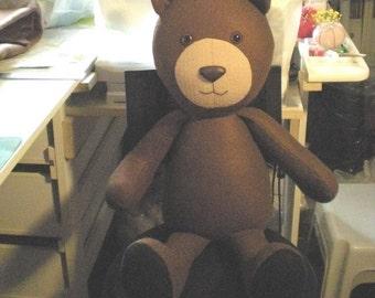 Large Felt Bear