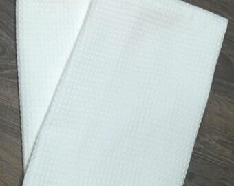 Blank Microfiber Towels (Single Towel) Waffle Weave Kitchen
