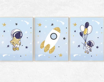 Space decor for boys room, Nursery decor space, Space nursery decor, Space themed nursery, outer space, playroom, kids room, toddler