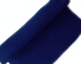 Royal Blue felt 30 x 22 cm, washable, eco-friendly, recycled, soft - leaf