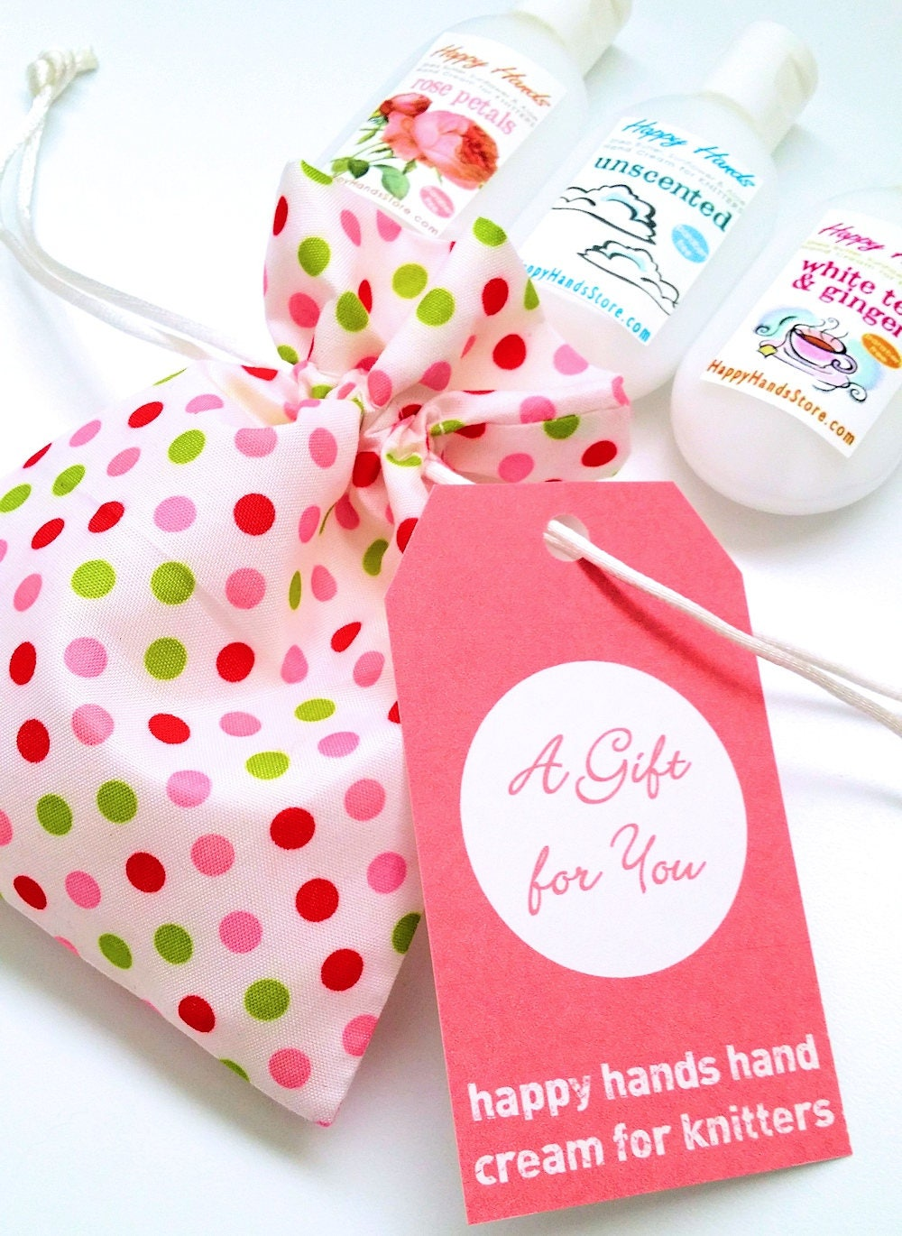 Hand Cream Gift Set Trio of Tottles 3 Bottles Assorted