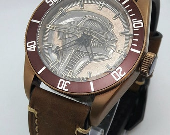 Custom Handmade Watches / Наручные Часы Ручной Работы
