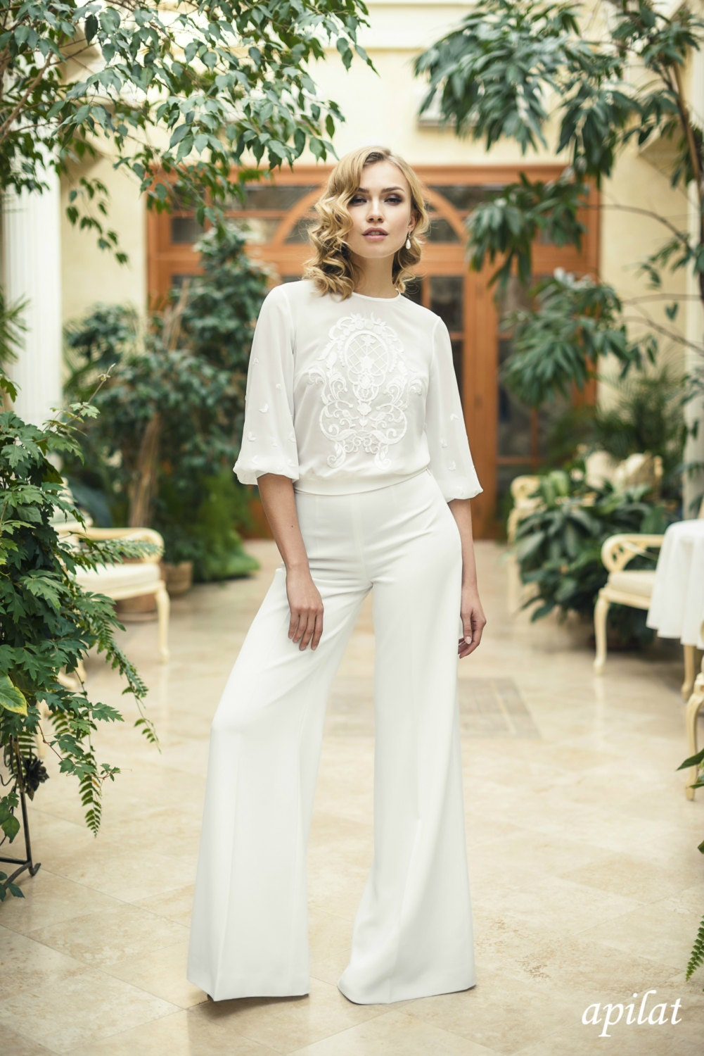 Modern Two Piece Trouser Wedding Suit L22 Wedding Trousers