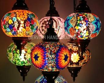 Ceiling Light, Hanging Lamp, Moroccan Lantern, Turkish Lamp, Entryway  Organizer, Hanging