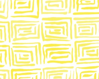Me & My Sister Ticklish Joking Around Yellow 22194-17 Half Yard