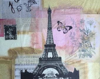 Print of original work paris