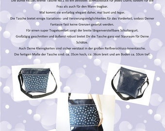 bag sewing instruction, detailed bag tutorial with photos, bag pattern, crossbody bag DIY, self sewing, paper pattern bag, bag pattern