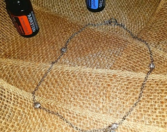 Handmade Louisiana Essential Oil Necklace