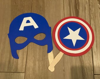 Captain American Photo booth Prop