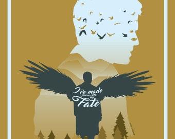 Castiel's Fate (11 x 17)