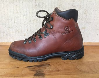 Scarpa hiking boots mens 8