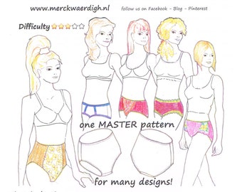 Download MINI-COURSE design your own PANTY by Merckwaerdigh