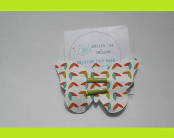 fabric clip Butterfly hair clip