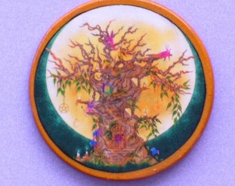 FAIRY TREE Talisman Amulet Witch Wicca