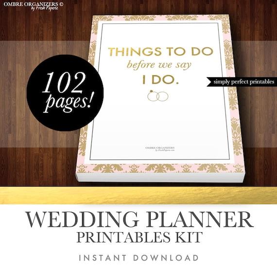 wedding binder templates