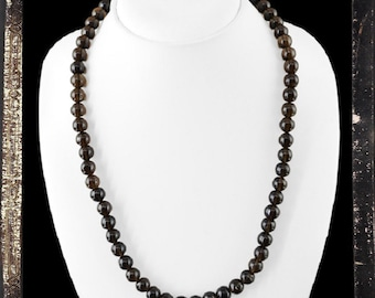 "20% OFF COUPON!!!---Smokey Quartz Single Strand 22"" Necklace, 300.0 ctw"