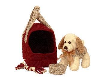 PDF Crochet Dog - Amigurumi  Dog Pattern -  (7209) Td creations