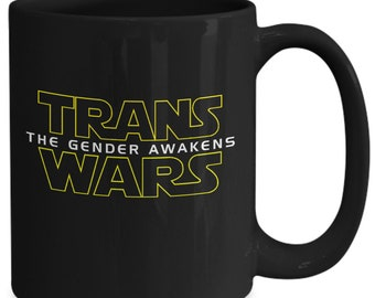 Transgender wars mug for lgbtq pride