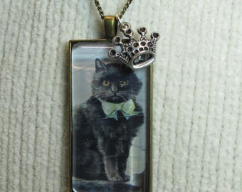 Black Cat Queen Necklace