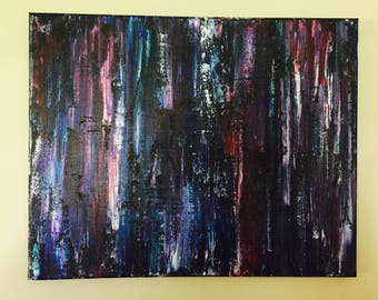 Original Palette Knife Art on Canvas - Ready to hang!