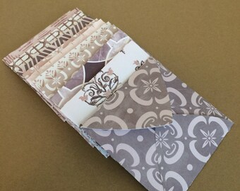 12 - Small Square Envelopes Made With Assorted Patterened Papers E1