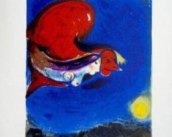 Book   DLM  27-28 Chagall 2  lithographs 1950