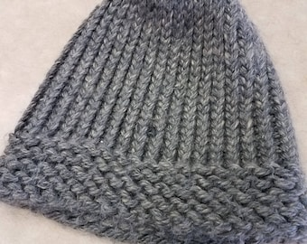 Simple Custom Made Knitted Hat