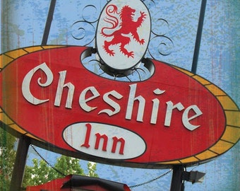St. Louis Coaster Collection: Cheshire Inn (single stone tile coaster)