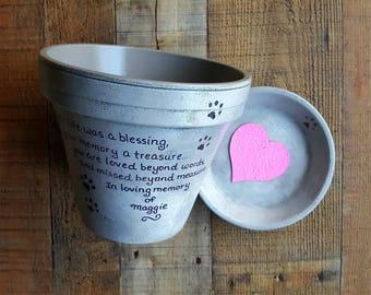 Personalized Pet Memorial - Dog Memorial - Cat Memorial - Pet Sympathy Gift